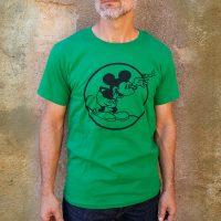 Men's Round Mickey Green