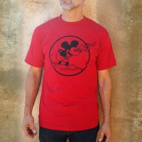 Men's Round Mickey Red